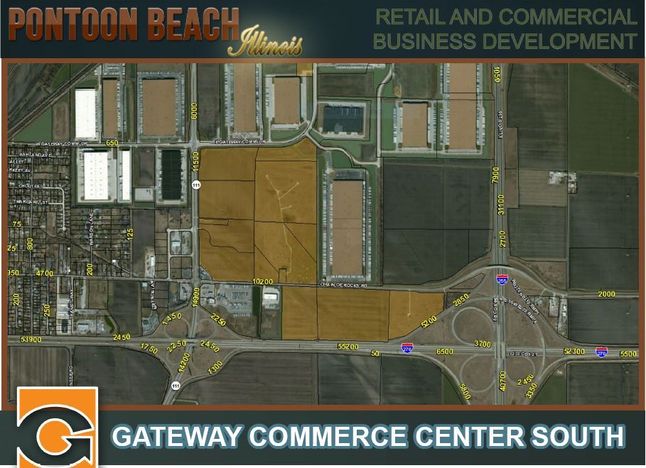 Gateway Commerce Center Aerial View