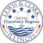 Lewis and Clark Discovery Begins in Illinois logo